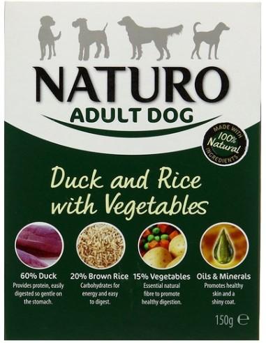 Naturo Adult Kaczka z ryżem i...