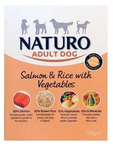 Naturo Adult Łosoś z ryżem i...