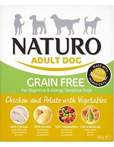Naturo Grain Free Kurczak, ziemniaki...