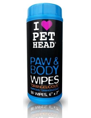 Pet Head Paw & Body Wipes chusteczki...