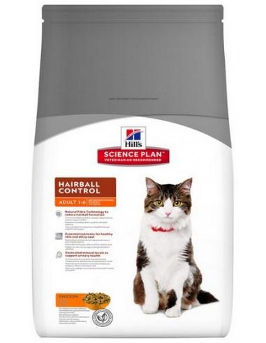 Hill's Feline Adult Hairball Control...