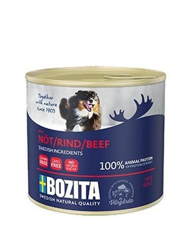 Bozita Dog Pasztet z wołowiną puszka...