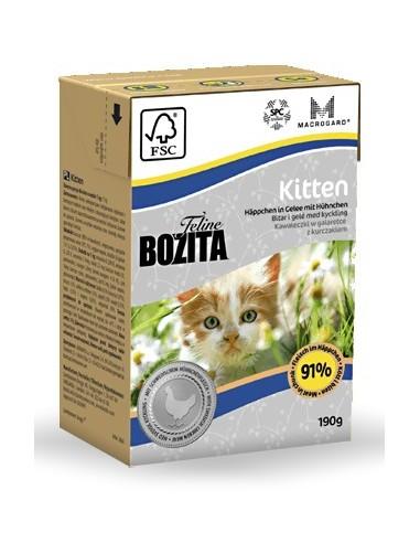 Bozita Cat Tetra Recart Feline Kitten...
